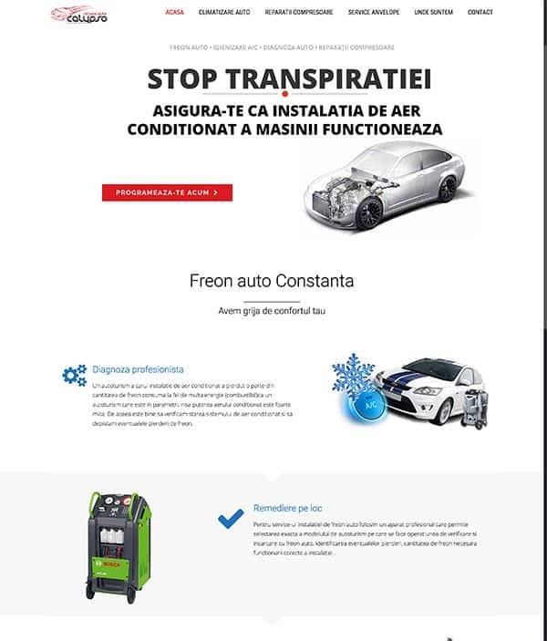 Realizare site web calypso-service.ro