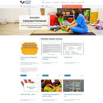 Realizare site web covorasulfermecat.ro