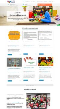 Agentie Web Design portofoliu client covorasul fermecat