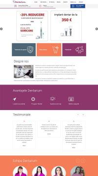 Agentie Web Design portofoliu client dentarium.ro