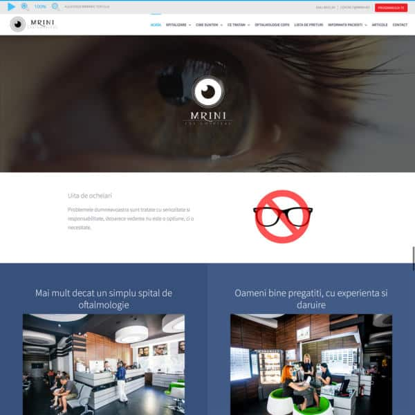 Realizare site web mrini.ro