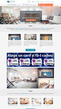 Agentie Web Design portofoliu client salinlife.ro