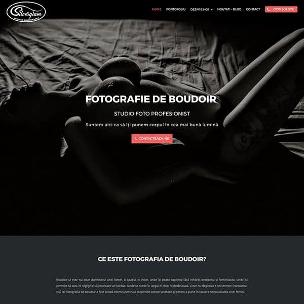 Realizare site web silverglam.ro