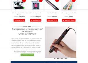 Agentie Web Design portofoliu client store3d.ro