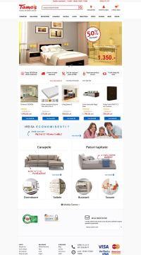 Agentie Web Design portofoliu client tamos.ro
