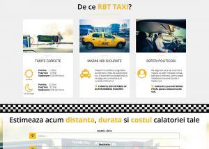Agentie Web Design portofoliu client taxi-constanta.ro